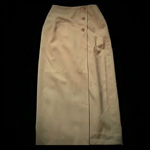 Talbots camel-colored wool maxi skirt-sz 2P
